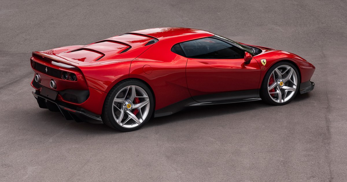 five things you need to know about the new ferrari sp38. Black Bedroom Furniture Sets. Home Design Ideas