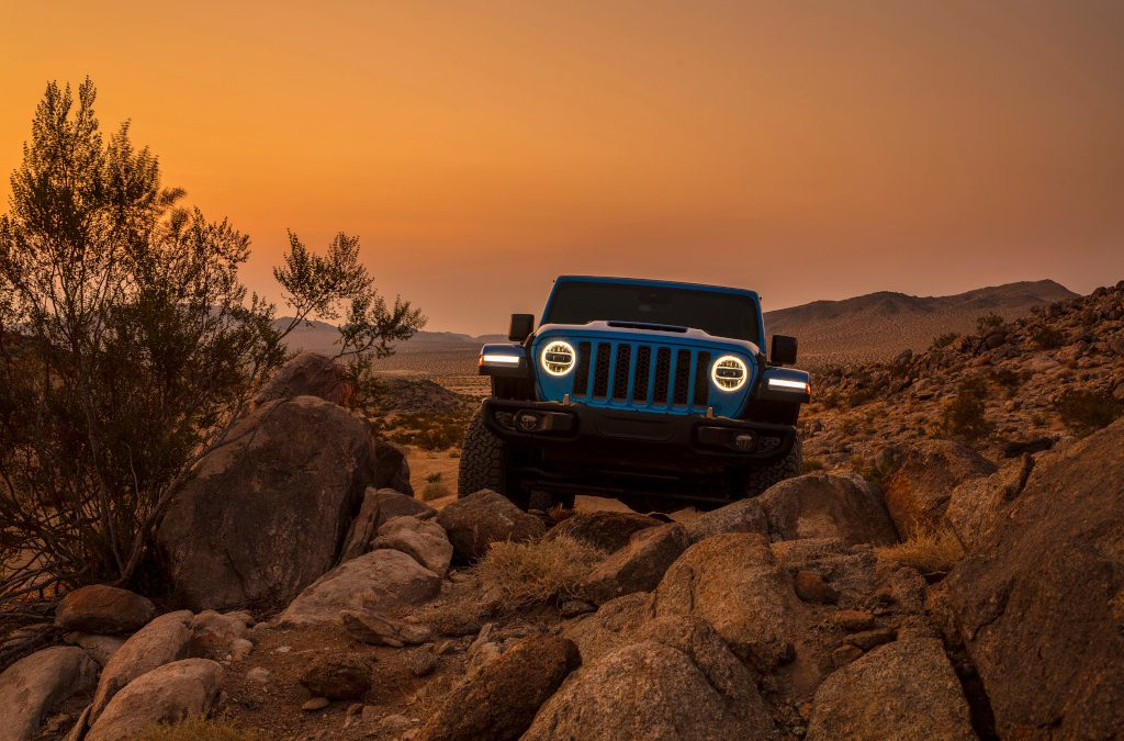 2021 Launch – V8 Wrangler is back. And it's so fast it's gone!